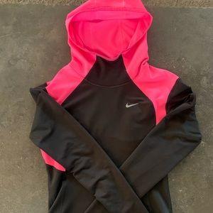 Nike Dri-Fit Mid Weight Hooded Running Shirt